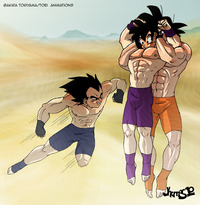 dragon ball z chi chi porn wolfpack fight saiyans training gohan versus goku vegeta beating dragon ball kai shounen muscle dbkai jhemos