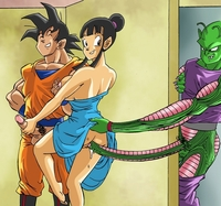 dragon ball z chi chi porn dragon ball son goku chichi piccolo