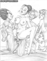 dragon ball z comic porn comics dragonballz preview dragonball