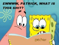 spongebob porn photos spongebob patrick read harry potter twilight clubs photo