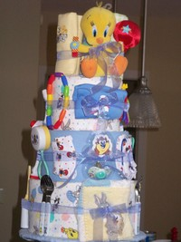looney tunes porn looney tunes diaper cake had really sweeten deal some cash get this straight guy