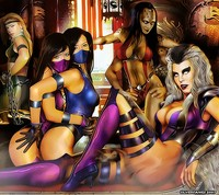 mortal kombat hentai albums userpics mortal kombat xtreme silverfangs users uploaded wallpapers mix size