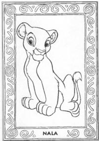 nala lion king porn lionking coloring nala lion click thumbnail see larger picture