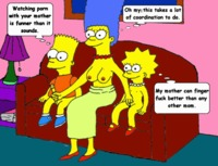 simpcest ddfa bart simpson lisa marge simpsons animated