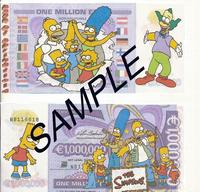 simpcest pict simpsons million euro bank note millionaire simpson marge simpcest