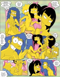 simpcest aea aadcb simpsons marge simpson lisa jessica lovejoy