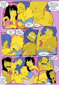 simpcest fbbf fluffy jessica lovejoy lisa simpson marge simpsons comic simpcest