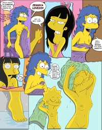 simpcest ecb fluffy jessica lovejoy lisa simpson marge simpsons simpcest
