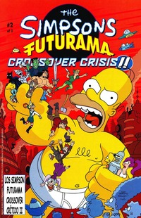 simpcest futuramacross crossoverii cover esp simpsons simpcest page