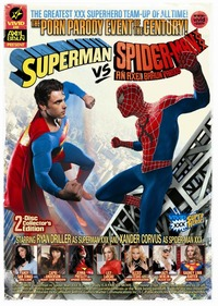 spiderman porn superman spider man xxx porn parody dvd culture racket holiday gift guide