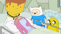adventure time porn fcb adventure time princess bubblegum finn human mole jake dog doctor ice cream porn ccf