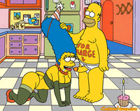 bart and marge fuck simpsons nude homer gives marge entry