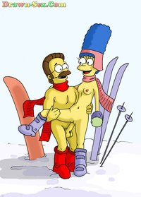 bart and marge fuck simpsons bart