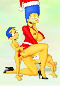 bart and marge fuck ebc bart simpson porn dbf milhouse van houten simpsons