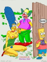 bart and marge fuck cartoon simpsons group