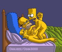 bart and marge fuck cface bdd efea dee bart simpson evilweazel artist incest marge