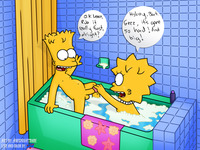 bart lisa porn dbd simpsons lisa simpson bart wdj user anewnight