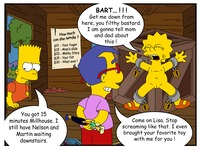 bart lisa porn bef ddb simpsons lisa simpson bart milhouse van houten animal