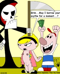 billy and mandy porn grim adventures billy mandy kthanid