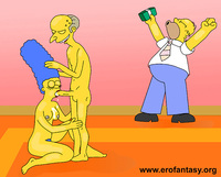 homer and marge bondage indecent proposal homer simpson marge montgomery burns simpsons monday