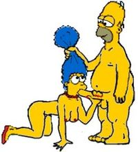 homer and marge bondage cartoon simpsons jessica bum