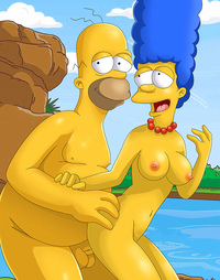homer and marge bondage homer marge skinny dip monday sexy