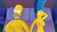 homer and marge bondage good snuggles homer simpson marge simpsons wvs monday