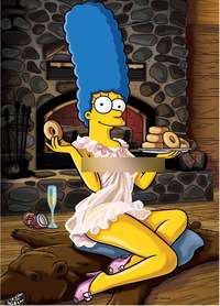homer and marge bondage marge date page