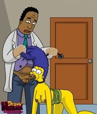 homer and marge bondage fff drawn hentai julius hibbert marge simpson simpsons entry
