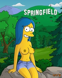 homer and marge bondage media original very nude photo homer took marge when they were dating bondage