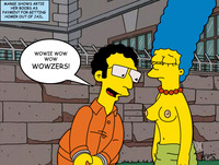 homer and marge bondage artie ziff marge simpson simpsons out jail monday bailing homer
