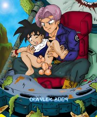 dragon ball z porn media original dragon ball mirai trunks son gohan oravlex