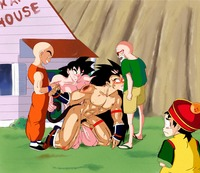 dragon ball z porn rule cfe dragonball porn user dragon ball son goku gohan videl