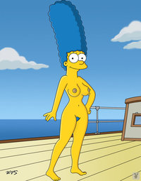 marge porn marge simpson simpsons nude boat monday yacht