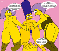 marge porn bart simpson marge patty bouvier selma simpsons sino