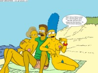 marge porn ebe edna krabappel marge simpson ned flanders simpsons animated porn hentai