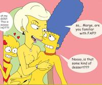 marge porn aaf simpsons marge simpson lisa lindsey naegle