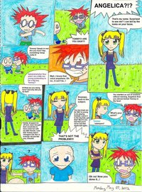 rugrats porn comics pre tibbs rugrats comic page all grown favourites