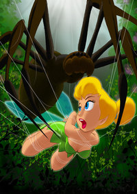 tinkerbell hentai pre tinkerbell trapped cabroon cylcp art