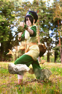 avatar the last airbender toph nude earth bending tophwei pfl nerdist channel
