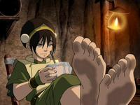 avatar the last airbender toph nude toph feet again fia art