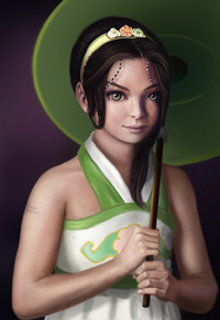 avatar the last airbender toph nude toph bei fong work progress back reygay rfglz anime avatar last airbender girl