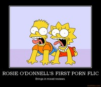 hot simpsons toons girls porn org demotivational poster rosie odonnells porn flic simpsons cartoons fat posters
