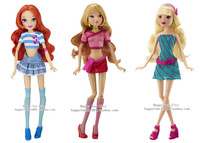bloom winx cartoon sex wsphoto free shipping winx club deluxe everyday collection doll bloom stella flora fashion dolls girls