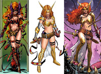 sexy drawings of a famous super heroine hot porn angela existing head stupid superheroine designs that need redesign stat