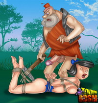 freaks toons hardcore sex flintstone toon bdsm