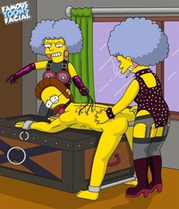 yellow toon guys porn facial simpsons bdsm pics