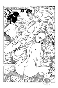 dragon ball porn media original dragonball porn dragon ball son android mai comic emperor vegeta chichi