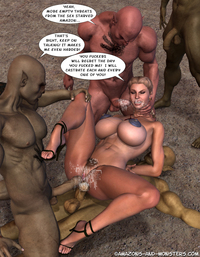 busty toons are the best xxx bff ecb busty amazons getting hard fucked cock orcs monster