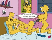bart and lisa porn heroes simpsons